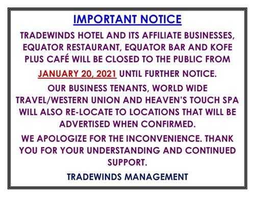Popup Notice